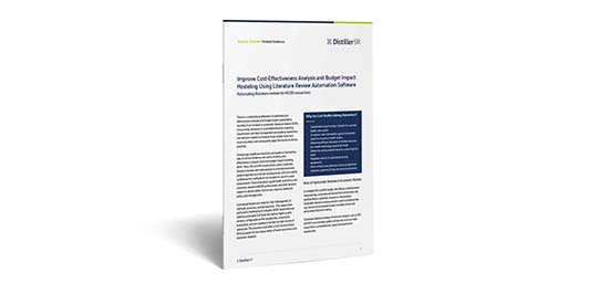 Improve Cost-Effectiveness Analysis and Budget Impact Modeling Using Literature Review Automation Software Cover Image